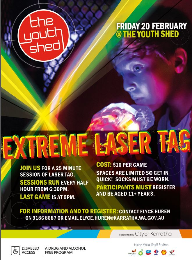 Extreme Laser Tag | City of Karratha